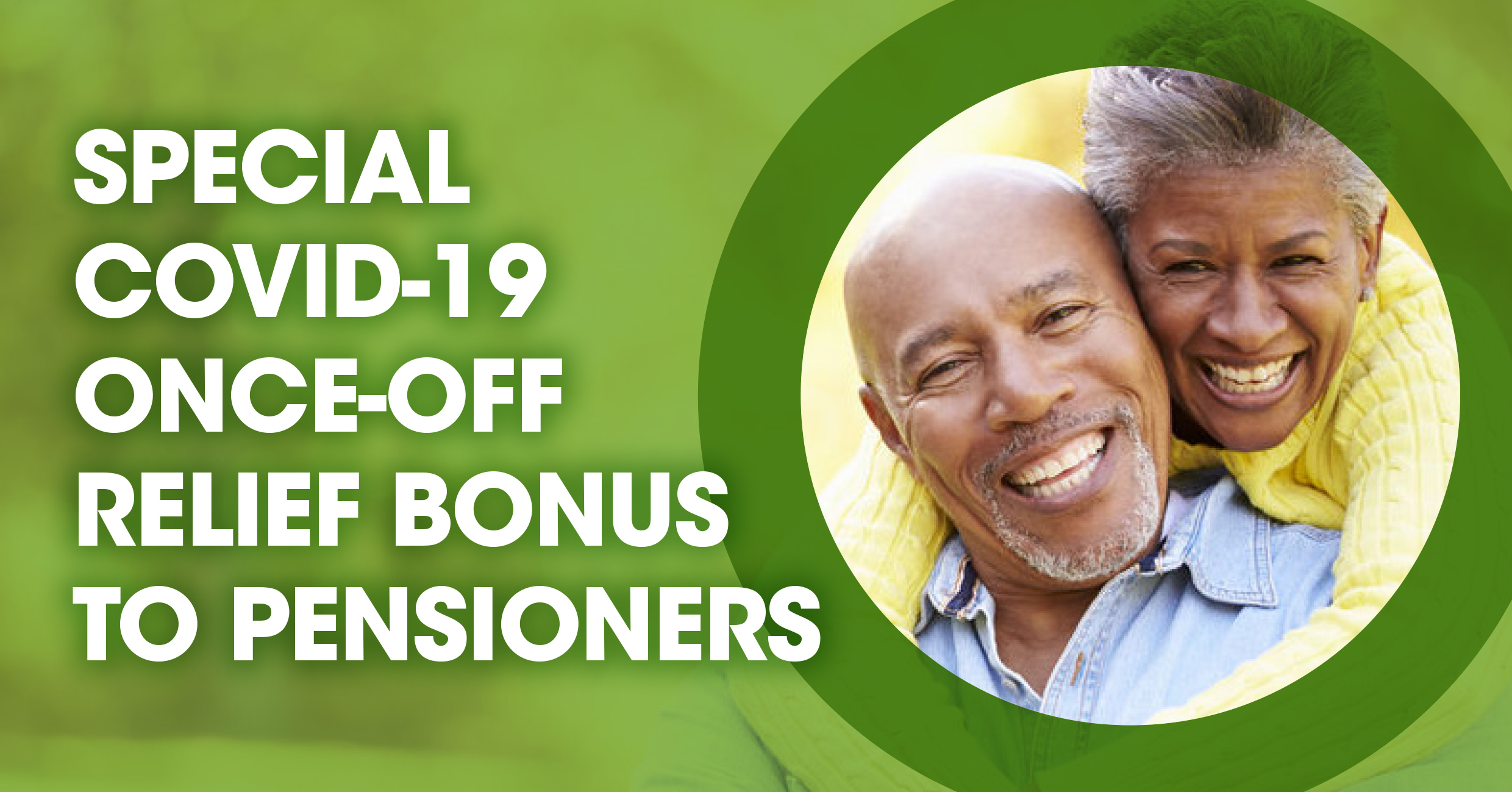 ONCE-OFF RELIEF BONUS TO PENSIONERS