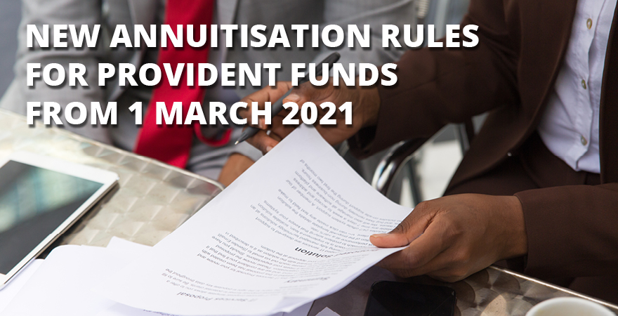 New Annuitisation rules